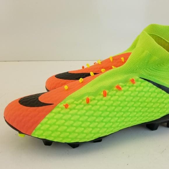 75379b99a3a5 Nike Hypervenom Phatal 3 III DF FG Electric Green. NWT. Nike. $90 $170. Size.  10.5
